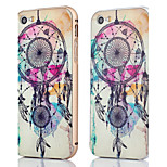 Metal Frame + Dream Catcher Pattern Backplane Back Case Cover for iPhone 5/5S (Assorted Colors)