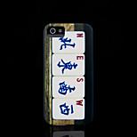 / caso del iphone 4 s la cubierta del patrón de mahjong para el iphone 4 carcasa