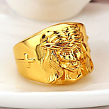Men's Creative Figure Shape Hip-Hop High Polishing Ring