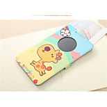 Colored Drawing Series Shell  Smart Tablet Protective Case Ultra-thin Leather Cover Case for Asus Fonepad 8(FE8030CXG)