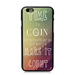Time is a Coin Design PC Hard Case for iPhone 6