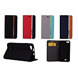 Hit Color No Buckle PU Leather Full Body Case for Wiko LENNY (Assorted Color)