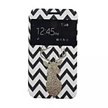 Deer  Pattern PU Leather Phone Case For Lenovo A319
