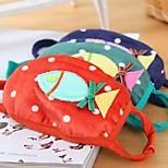 Lovely Fish Pattern Fleece Anti-Dust Winter Thermal Children Respirator Face Masks Health Gauze Mask (Random Color)