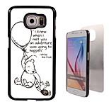 приключение произошло дизайн алюминия жесткий футляр для Samsung Galaxy S6