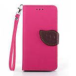 Deluxe Litchi Leaves Wallet Leather Flip Tpu Case For Sony Xperia Z3 Mini Wallet Handbag + Lanyard