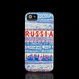 russischen Stil Muster Abdeckung für iPhone 4 Fall / iphone 4s Fall