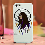 Colored Drawing Fashion Style Protection Shell for iPhone5/5s -Maiya-M11023