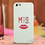 Colored  Drawing Fashion Style Protection Shell for iPhone5/5s Maiya-P101