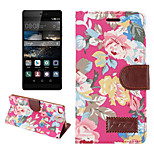 High-grade Cloth Grain Pu leather  Cardholder Wallet Flip Phone Holster For Huawei P8 (mixed color)