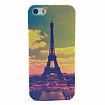 Transmission Tower Pattern Transparent Frosted PC Back Cover For  iPhone 5/5S