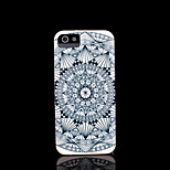 Aztec Mandala Flower Pattern Cover for iPhone 4 Case for iPhone 4S