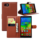Litchi Around Open Standoff Phone Holster Suitable for Lenovo K920(Assorted Color)