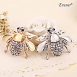 Euner® Factory Direct Hot Selling Cute Animal Bee Brooch For Women In Europe And America