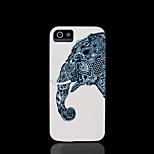 Elefantmuster Abdeckung für iPhone 4 Fall / iphone 4s Fall