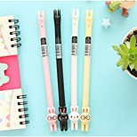 Lovely Rabbit Neutral Pen  (Random Color)