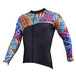 PaladinSport Men's Long Sleeve Cycling Jersey New Style CX525 100% Polyester