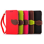 For LG Google Nexus 5 E980 PU Leather Leaf Buckle Style Stand Wallet Flip Holster Hard Back Shell Phone Cases Cover