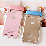 Case for iphone 6 Transparent Cute 3D Milk Bottle Protector Skin Case Cover for Apple phone Cell