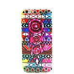 COCO FUN® Campanula Tribe Pattern Soft TPU IMD Back Case Cover for iPhone 6