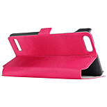 Black Pomelo® Flip-over PU Leather Stand Case for Huawei G6