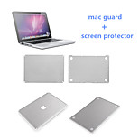 Top Selling Sliver Full Body Sticker Mac Guard and HD Screen Protective Flim with Package for Macbook Pro 13.3