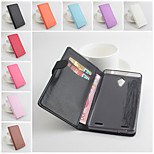 PU Leather Protective Case With Holder Stand for ZTE V5 Max(Assorted Colors)