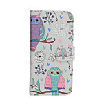 Fashion Pattern Design Pu Leather And The Card Slot Cell Phone Holster For iPhone 6