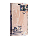 Postage Stamp Pattern Full Body Case for Sony Xperia E4G(Assorted Colors)