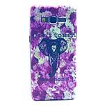 Coco design de moda fun® elefante roxo padrão pc difícil imd tampa da caixa traseira para samsung galaxy grande G530 privilegiada