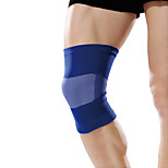 Ollas Unisex Outdoor Fitness Blue Nylon Classic High-elastic Curving knitting Knee/Legs Protective Gear S9408
