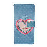 Magic Spider®Heart Pattern PU Full Body Case Stand with Screen Protector for Sony Z4