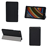 Solid Colors Luxury Custer Leather Flip Full Body Case with Stand Function for Lenovo Thinkpad 8 (Assorted Colors)