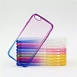 Multicolor Gradient Acrylic Phone Case For iPhone 6 (Assorted Color)