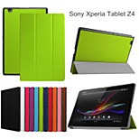 New Magnet Stand Leather Case for Sony Xperia Z4 Tablet Case Book Style Case Cover for Xperia Z4 10.1
