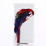 Parrot Pattern TPU Material Phone Case for Sony M2