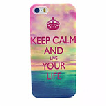 Choi Pattern PC Hard Case For iPhone 5/5S