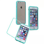 Multicolor PC + TPU + Touch Screen Mobile Phone Shell Around Open For iPhone 6  (Assorted Colors)