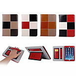 Mixed Color Pattern Genuine Leather Folio Cases Smart Cover for iPad mini 2/ iPad mini 3 (Assorted Colors)