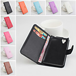 Protective PU Leather Magnetic Vertical Flip Case for Wiko Sunset(Assorted Colors)