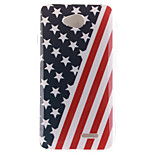 The American Flag Design TPU Soft Case for LG 70