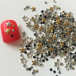 200PCS Mixed Style  Rivet Nail Art Decorations 1#
