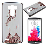 Back Pattern PC Phone Case for LG G3
