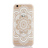 Datura Flowers Pattern Hard Back Case for iPhone 6