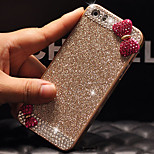 Luxury Bling Glitter Bowknot Back Cover Case with Diamond for iPhone 6(Assorted Colors)