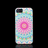 Aztec Mandala Flower Pattern Cover for iPhone 5 Case for iPhone 5S