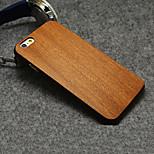 ultrasottile cassa di legno mela copertura posteriore dura per iPhone 6