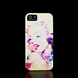 Marilyn Monroe Pattern Hard Cover for iPhone 5 Case for iPhone 5 S