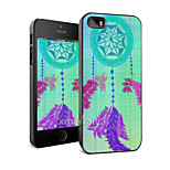 Colored Drawing Fashion Style Protection Shell for iPhone5/5s -Maiya-M11326