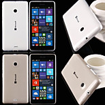 Ultra Thin Transparent TPU Soft Case for Microsoft Lumia 435 (Assorted Colors)
